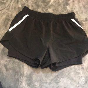 Reeboks workout shorts small